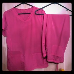 Women's scrubs Pink